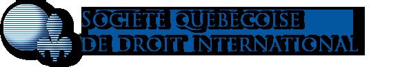 Société québécoise de droit international (SQDI)